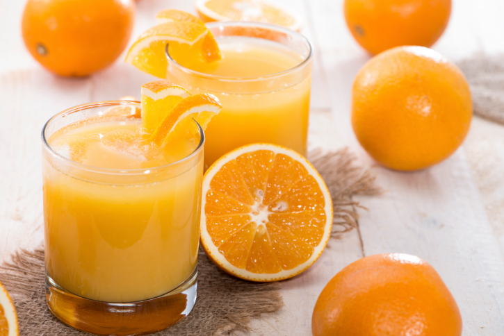 Jus d'orange vitamine C