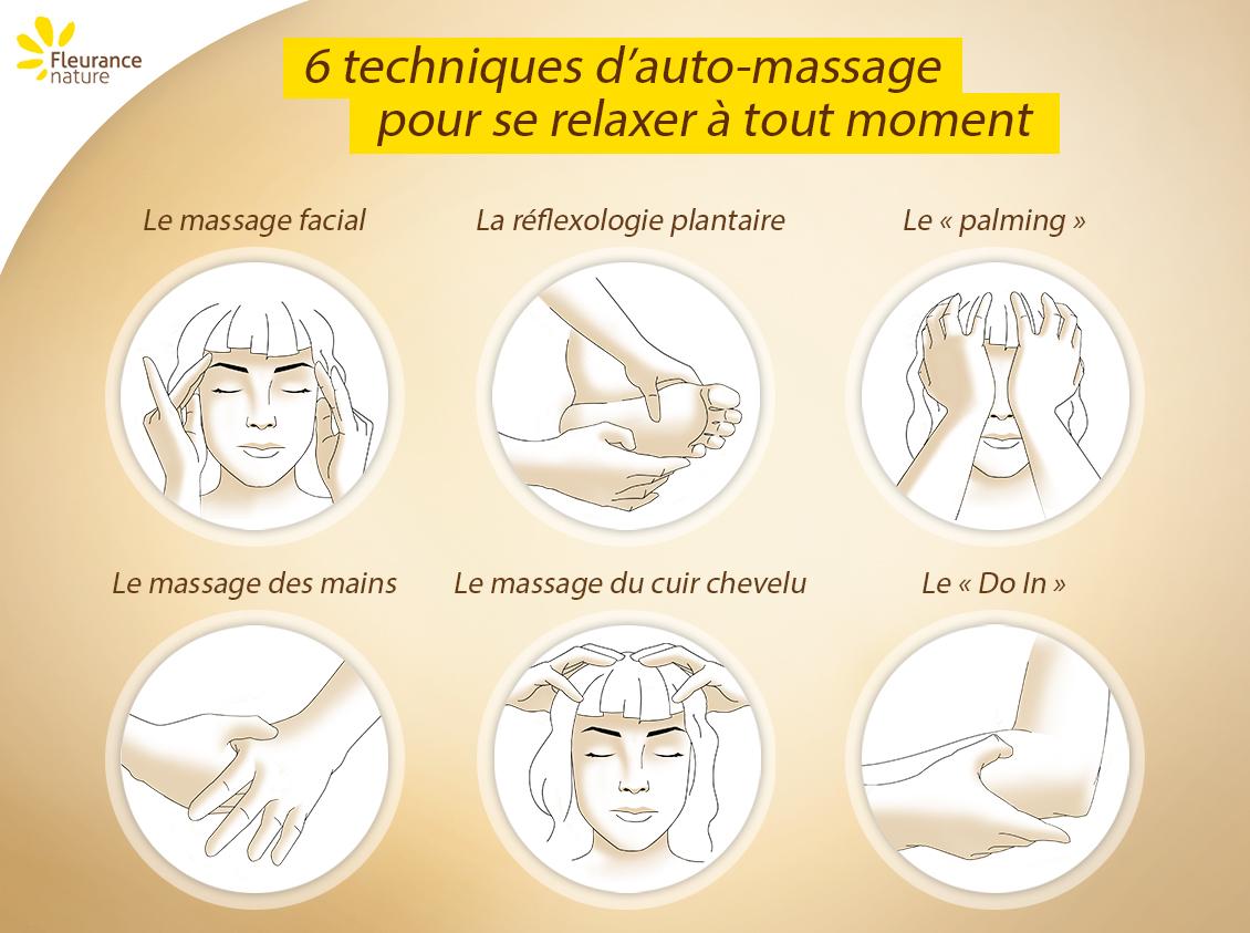 6 techniques d'auto-massage