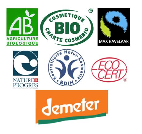 labels biologiques et biodynamiques de confiance
