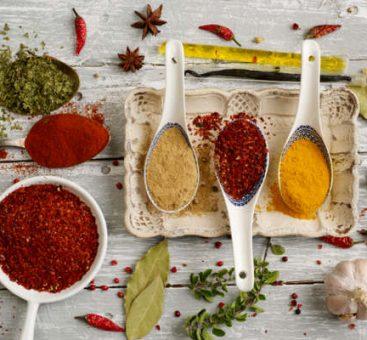 Les épices et leurs bienfaits sur notre santé