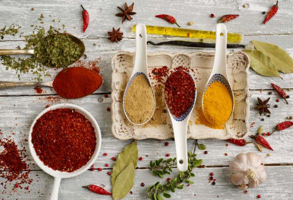 Les épices et leurs bienfaits sur notre santé.