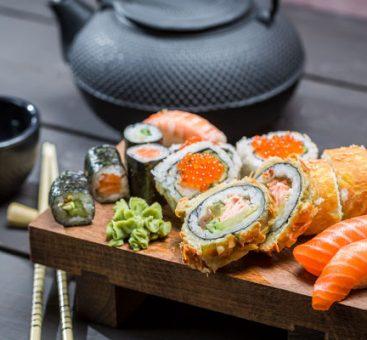 La santé passe par l'assiette : l'alimentation japonaise, tendance et saine à la fois.