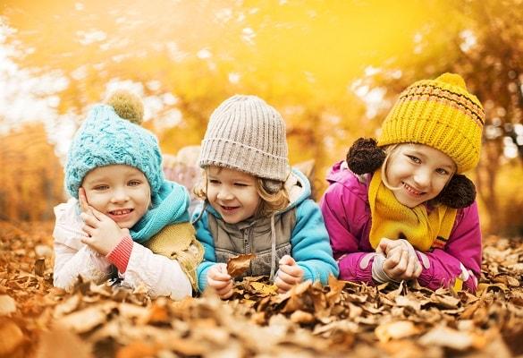 Enfants-nature-automne