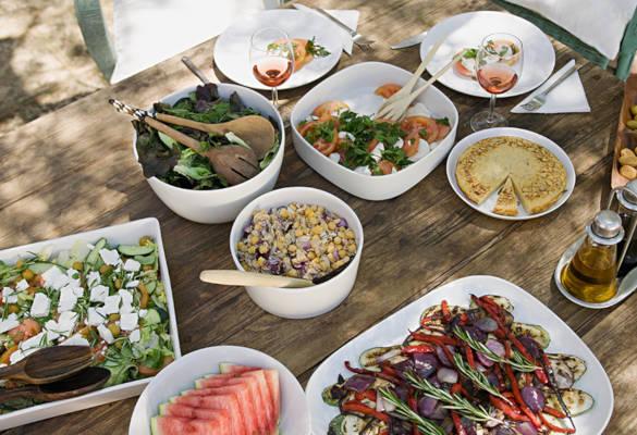 Repas type à Index Glycémique faible