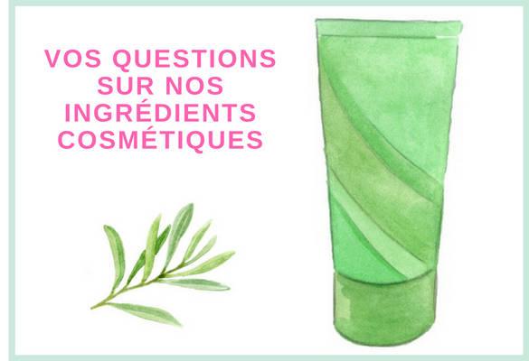 Tout savoir sur les ingrédients composants d'un produit cosmétique bio