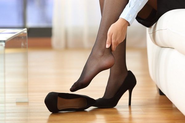 Des jambes légères au travail