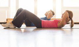 Exercices simples à faire chez soi