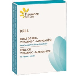 KRILL (Huile de krill, Vitamine C, Manganèse)