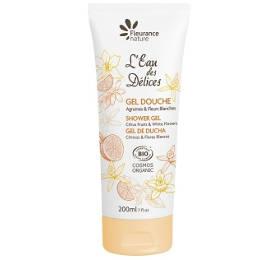 Gel douche parfumé à l'Eau des Délices Agrumes & Fleurs blanches