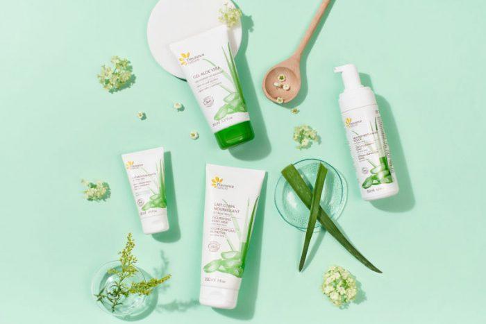 Fleurance Nature gamme aloe vera certifiée cosmétique bio