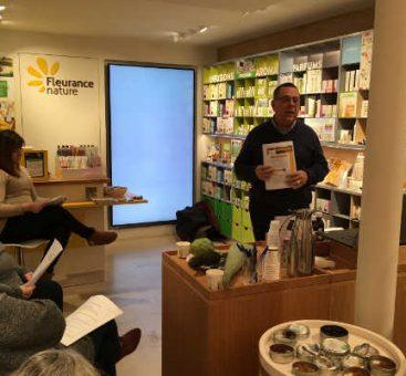 Des ateliers santé et beauté à la boutique Fleurance Nature