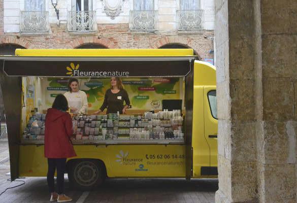 Fleurance Nature sur les marchés du Gers