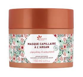 Masque capillaire à l'argan certifié cosmétique bio