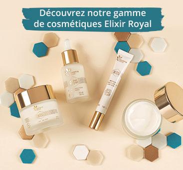 PUSH - Gamme cosmétiques elixir royal