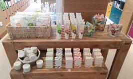 Des cosmétiques solides et zéro déchet dans notre boutique parisienne