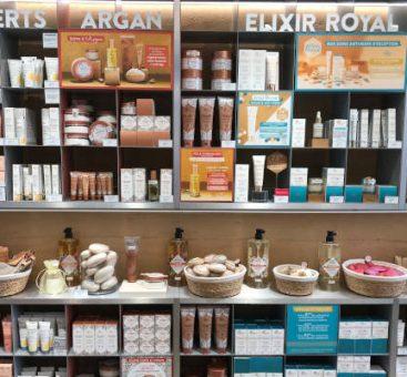 De nouveaux cosmétiques naturels et bio dans notre boutique de Paris