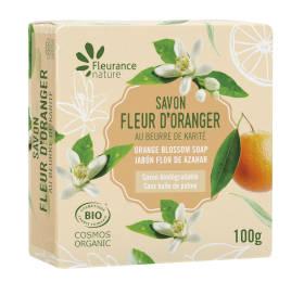 Savon parfumé à la fleurs d'oranger - cosmétique certifié bio