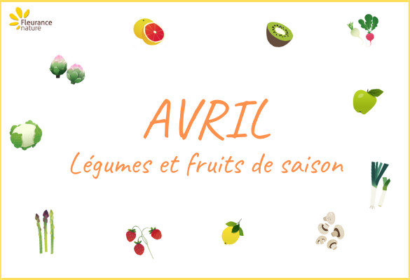 Calendrier fruits et légumes d'avril