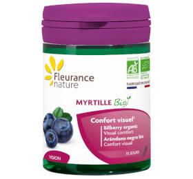 Myrtille bio, tous les bienfaits de la myrtille pour les yeux