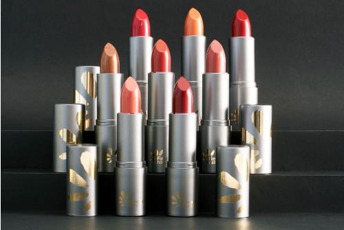 Gamme de rouges à lèvres bio fleurance nature