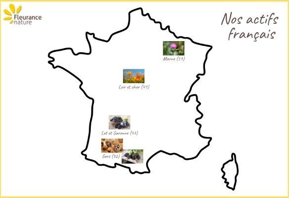 Les actifs français de Fleurance Nature